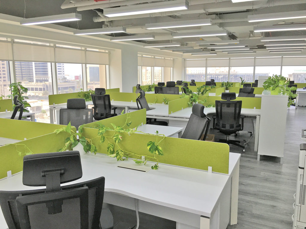 Hitec Offices recently furnished the office for one of our