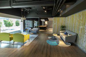 Hitec Offices - Office Sofa Lounge Seating Furniture Showroom Dubai