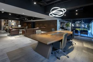 Hitec Offices - Office Conference Table Furniture Showroom Dubai