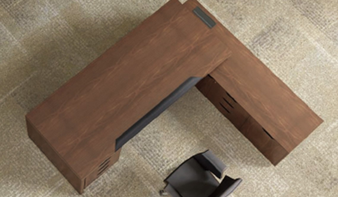 Ming Executive Melamine Office Desks