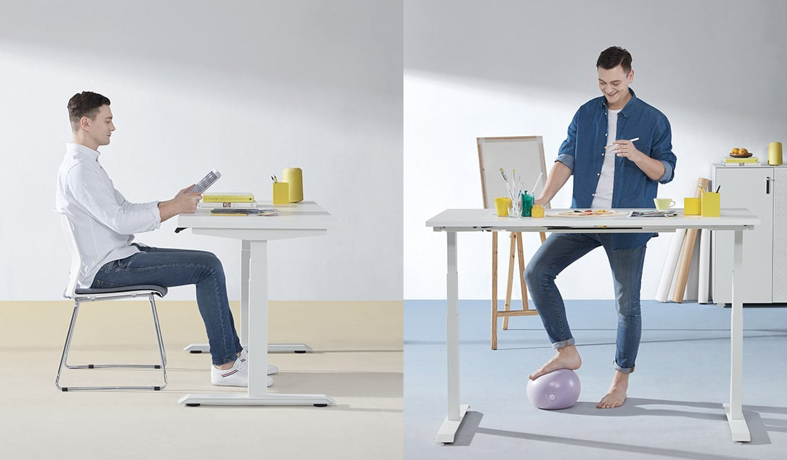 Sit and Stand Desk For Offices