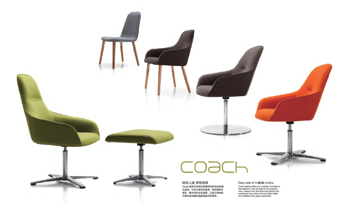 Coach Office Sofa Lounge Office Chair Office Furniture