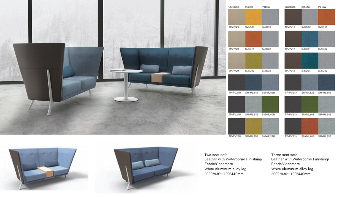Rabat Office Sofa Lounge Office Chair Office Furniture