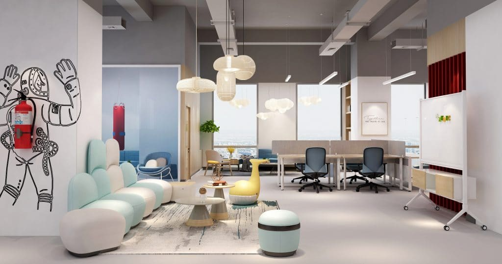 New Age Office Design for Remote Workforce